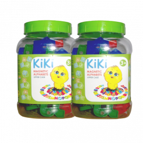 KiKi Magnetic Alphabets - Upper Case (Pack of 2)