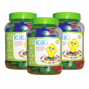 KiKi Magnetic Alphabets - Upper Case (Pack of 3)