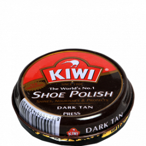 Kiwi Dark Tan Shoe Polish 15 gms