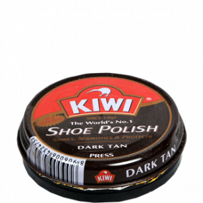 Kiwi Dark Tan Shoe Polish 40 gms