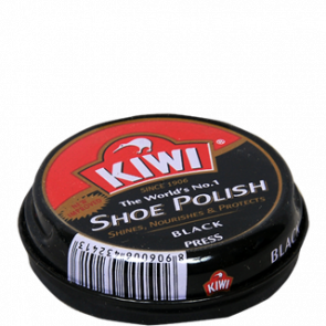 Kiwi Shoe Polish Black 15 gms