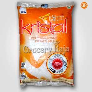 Kristal Premium Crystal Iodised Salt - Uppu (உப்பு) 1 Kg