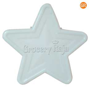 LED Multicolor Decoration Light White Molded Star