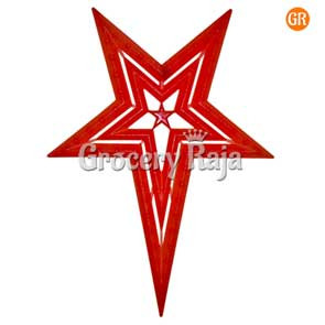 LED Multicolor Decoration Light Red Star