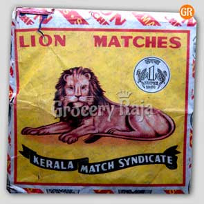 Lion Matches (10 Boxes)
