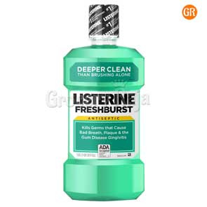 Listerine Fresh Burst Mouthwash 80 ml