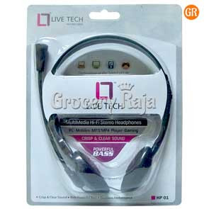 LiveTech LT-HP01 Headphone with Mic