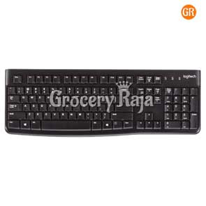 Logitech K120 USB  Keyboard - Black