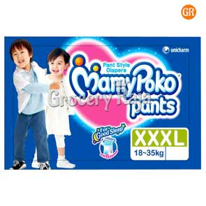 Mamy Poko XXXL 18-35 Kg Pant Style Diapers 7 Diapers