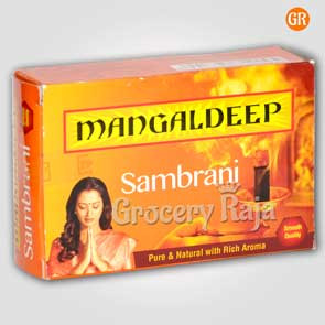 Mangaldeep Computer Sambrani (20 pieces)