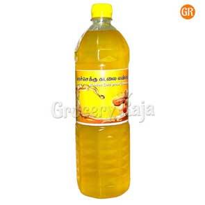 Shree Kandha ORGANIC Marachekku Groundnut Oil 1 Ltr (மரச்செக்கு கடலெண்ணெய்)