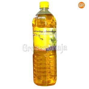 Shree Kandha ORGANIC Marachekku Gingelly Oil 1 Ltr (மரச்செக்கு நல்லெண்ணெய்)