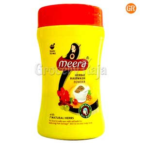 Meera Herbal Hairwash Powder 80 gms