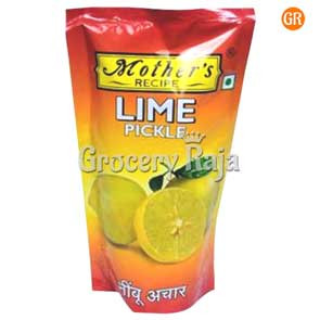 Mothers Recipe Lime Pickle Pouch 200 gms