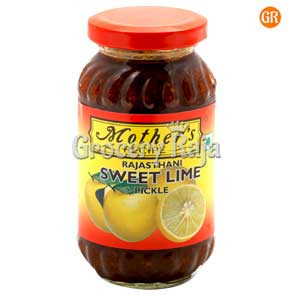 Mothers Recipe Rajasthani Sweet Lime Pickle 300 gms