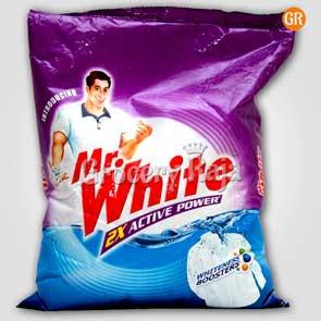 Mr. White 2X Active Detergent Powder 1 Kg