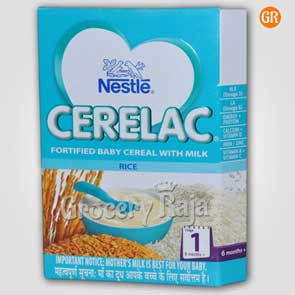 Nestle Cerelac with Milk Rice Stage 1