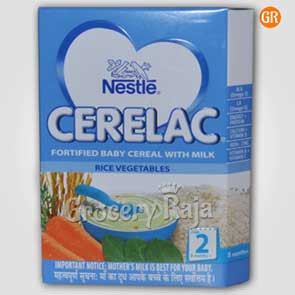 Nestle Cerelac with Milk Rice Vegetables Stage 2