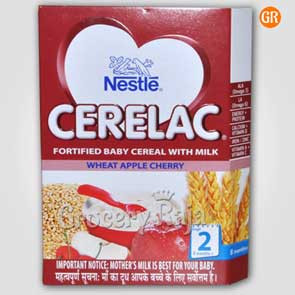 Nestle Cerelac with Milk Wheat Apple Cherry Stage 2