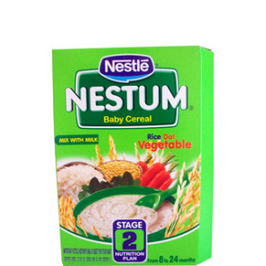Nestle Nestum Rice Dal Vegetable Stage 2 300 gms