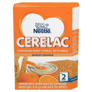 Nestle Cerelac with Milk Wheat Orange Stage 2