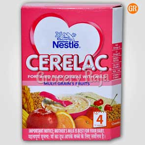 Nestle Cerelac with Milk Multi Grain 5 Fruit Stage 4
