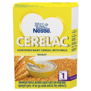 Nestle Cerelac with Milk Wheat Stage 1