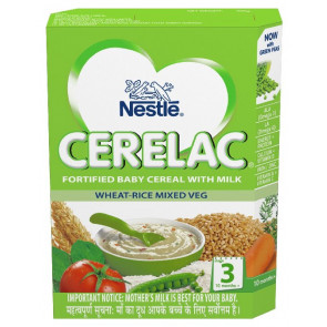 Nestle Cerelac with Milk Wheat Mixed Vegetable Stage 3