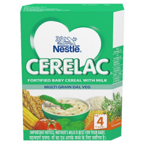 Nestle Cerelac with Milk Multi Grain Dal Veg Stage 4