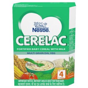 Nestle Cerelac with Milk Multi Grain Dal Veg Stage 4