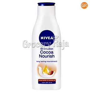 Nivea Body Lotion Oil In Cocoa Nourish 250 ml