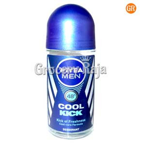 Nivea Cool Kick Underarm Roll On For Men Deodorant 50 ml
