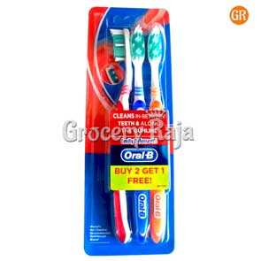 Oral B All Rounder 123 Clean Toothbrush - Soft 1 pc