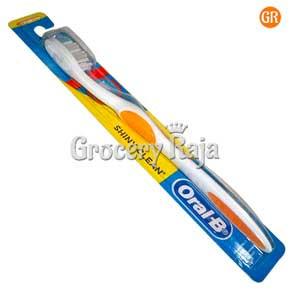 Oral B Shiny Clean Medium Toothbrush 1 pc