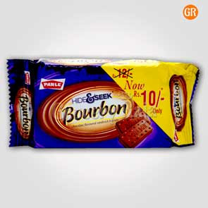 Parle Bourbon Kreams Chocolate Flavoured Biscuit Rs. 12