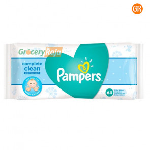 Pampers Fresh Clean Baby Wipes 64 Wipes