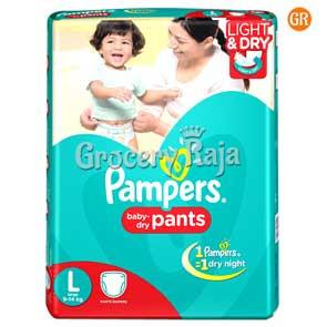 Pampers Pant Diaper - Large (9-14 Kg) 48 pcs