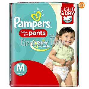 Pampers Pant Diaper - Medium (7-12 Kg) 8 pcs