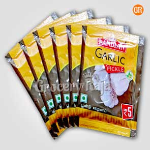 Pandian Garlic Pickle Rs. 5 Sachet (Pack of 6)