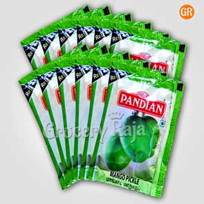 Pandian Mango Pickle Rs. 1 Sachet (Pack of 12)