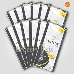 Pantene Long Black Shampoo Rs. 3 Sachet + 15% Extra (Pack of 12)