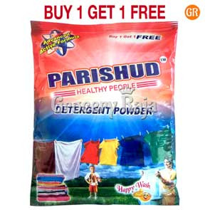 Parishud Detergent Powder 600 gms + Buy 1 Get 1 Free