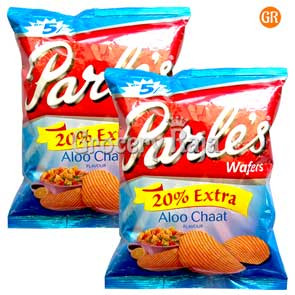 Parle Aloo Chat Chips Rs. 5 (Pack of 2)
