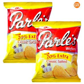 Parle Classic Salted Chips Rs. 5 (Pack of 2)