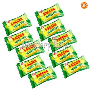 Parle Kaccha Mango Bite Rs. 1 (Pack of 10)