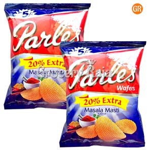 Parle Masala Masti Chips Rs. 5 (Pack of 2)