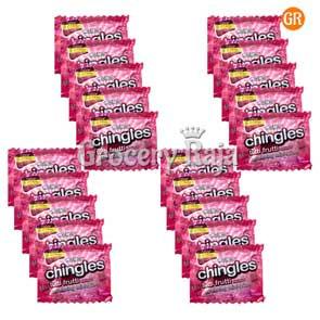 Pass Pass Chingles Tutti Frutti Rs. 1 (Pack of 20)