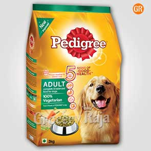 Pedigree Dog Food Vegetarian  - Adult 3 Kg