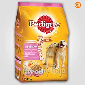 Pedigree Dog Food with Chicken & Milk - Puppies 1.2 Kg