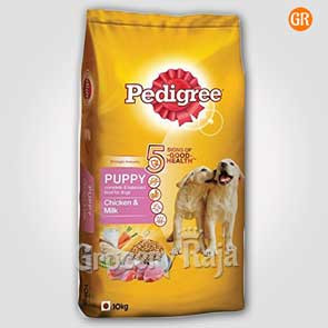 Pedigree Dog Food with Chicken & Milk - Puppies 10 Kg